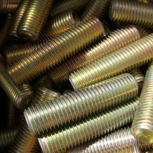 China DIN 975 Galvanized / Nickel-plated Steel Threaded Bars, A193 B7 Stud Bolts And Nuts on sale