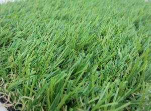 China Outdoor Lawn Artificial Grass Carpet Anti-UV PE Yarn , 25MM Height on sale