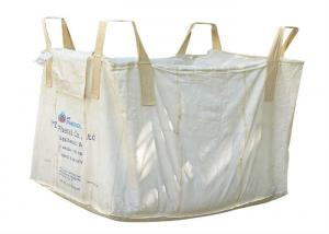 Quality 100% Virgin PP Bulk Material Bags , Customized Size Reinforce PP Big Bags for sale