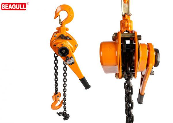 3 Ton Steel Chain Lever Hoist / Ratchet Lever Block Standard Lift 3m