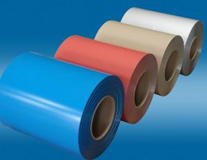 China China manufacturer exports color coated aluminium coil on sale