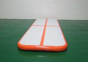 China Orange Small 3m / 10ft Gymnastics Equipment Tumble Track Inflatable Air Track Set on sale