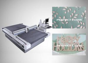 China Automatic Knife Self Checking CNC Router Table 0.1mm Accuracy For Kt Board on sale