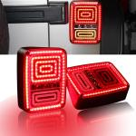 China Rear LED Tail Lights Brake Reverse Turn Singal Lamp for Jeep Wrangler JK 07-16 wholesale