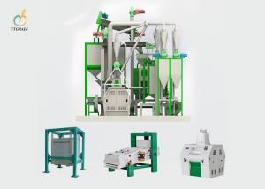 China 40 Ton Per Day Corn Flour Mill Machine Industrial Maize Processing Plant on sale