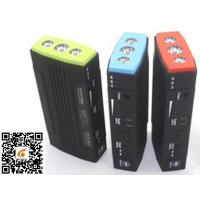 China Small Emergency Car Battery Jump Starter With 3*1w Led Lights on sale