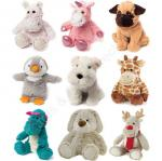Small Cute Heatable Plush Toy , Cozy Hugs Aromatherapy Stuffed Animals