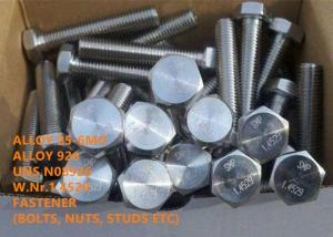 China 25-6MO / N08926 High Performance Precision Alloys Super Austenitic Stainless Steel Alloy on sale