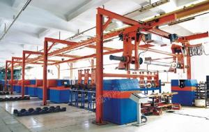 China Automatic Electroplating Plant for Rotogravure Cylinder making on sale