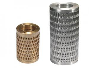 China Aluminium Alloy Large Capsule Precision Mold Die Roll Tooling For Softgel And Paintball on sale