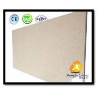 Xiamen Kungfu Stone Ltd supply Beige Quartz Kitchen Countertops  In High quality and cheap price