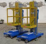 産業 9 Metrs 油圧上昇のプラットホーム、Insulative の頑丈な移動式高い仕事プラットホーム
