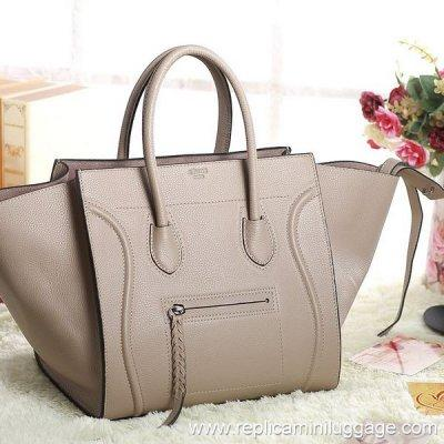 032981e9b5 Celine Luggage Phantom Bag Pebbled Leather Grey for sale – Celine ...