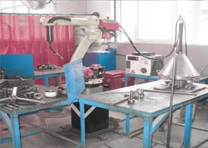 China Military Project Robotic Welding Workcell With Flexible Layout on sale