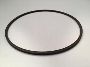 China Wear Resistant Black Industrial O Rings , Oil Resistance Large Rubber Ring on sale