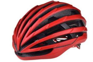 China Black And Red Road Cycling Helmets / Heat Sealing Mountain Bike Helmets on sale
