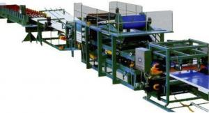China Colored Steel Continuous Sandwich PanelProduction LineWith 5 Tons Capacity on sale