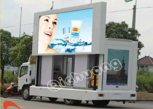China Outdoor Advertising Rental Truck Mobile LED Display Panel For Bus / Railway Station P10mm on sale