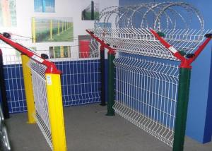 China Plastic Coating Security Iron Wire Mesh Fence Airport Fence Metal Fence Powder Coating on sale
