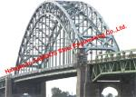 Design Supply Construction of Tied-Arch Steel Bridge Deck with Bowstring Arch Girder