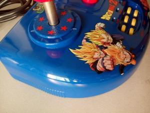 Analog / Digital Turbo / Slow Fighting Game Arcade Stick With Rubber