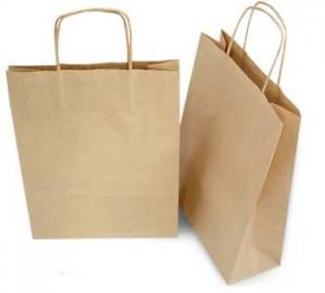 China brown paper bag on sale