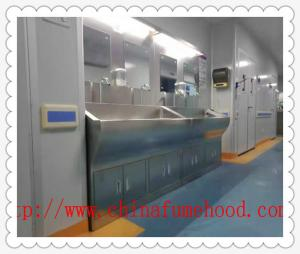 China Durable Stainless Steel Science Lab Frniture For Cleaning Room OHSAS 18001 on sale