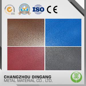 China PE / PVDF / SMP Galvanized Steel Sheet , 1000mm Width Pre Painted Steel Sheet on sale