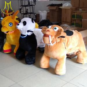 China Hansel  wholesales coin operated kiddie ride on animal christmas deer on sale