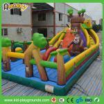 安く膨脹可能なスライドは、膨脹可能な空気滑りま、子供のスライドの膨脹可能なスライドのトランポリンを跳びます