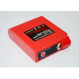 China 7.4V 15W Red Li-ion Heated Clothing Battery Pack with CE FCC ROHS Certificates on sale