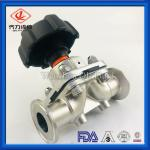 """Hygienic Stainless Steel Valves 316L Diaphragm Valve 1/2""""-4"""" For Pharmacy"""