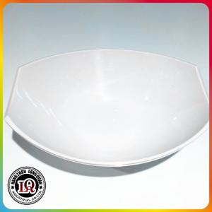 China white plastic salad bowl on sale