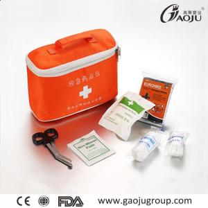 China Practical Medical Accessories Emergency First Aid Kits GJ-2076 ISO Certificate First Aid Kit Home on sale