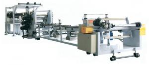 Quality Eco Friendly 110KW Board Extrusion Line Three Roller OEM / ODM Available for sale