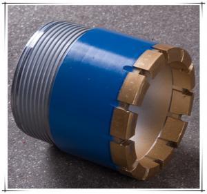 China Forging Processing Type BX NX HX Diamond Core Drill Bit 56mm - 122mm Size on sale