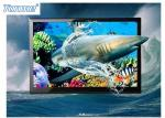"""China 50 """" Naked Eye LCD Advertising Display 3D For Public Places 450 Cd / ㎡ Brightness wholesale"""