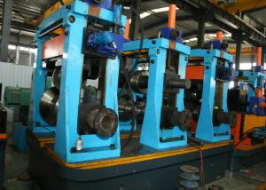 China CE BV Listed Industrial Tube Mills Line / Steel Pipe Manufacturing Machine on sale