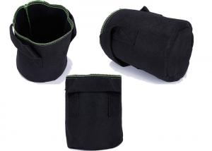 China 3 Gallons /  4 Gallon Vegetable   Felt Planter Bags  Aeration Fabric  With Handles on sale