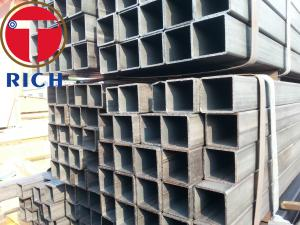 China API 5L Galvanized Square and Rectangular Steel Pipes GI Steel Tube Gas Pipe for Liquid Delivery on sale