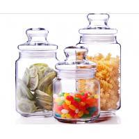 500ml Glass Spicy Jar with Lid / Glass Storage Jars / Stock Glass Jars