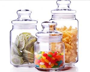 China 500ml Glass Spicy Jar with Lid / Glass Storage Jars / Stock Glass Jars on sale