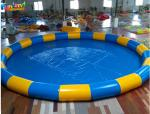 Inflatable Pool 3ft Deep Round 10m 0.9mm PVC Blow Up Pool