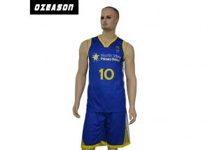 China OEM Polyester Team Uniform Suit Basketball Jersey for Promotion on sale