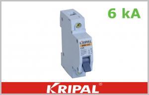 Quality 4.5KA 6KAのミニチュア遮断器1のポーランド人2ポーランド人3ポーランド人4ポーランド人1~63A MCBのカーブ:B、C、D for sale