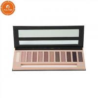 Customized eye shadow box own brand makeup palette eye shadow packaging box