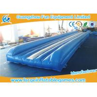 Flame Retardant Inflatable Sport Games , Air Gymnastics Equipment Tumble Track