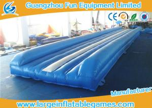 China Flame Retardant Inflatable Sport Games , Air Gymnastics Equipment Tumble Track on sale
