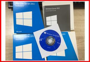 China Standard Windows Server 2012 Retail Box 5cals Genuine Key License 64bit DVD on sale