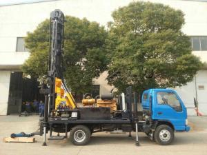 China KW20 Portable Drilling Rig Machine Water Well Drilling Rigs Truck Mounted on sale